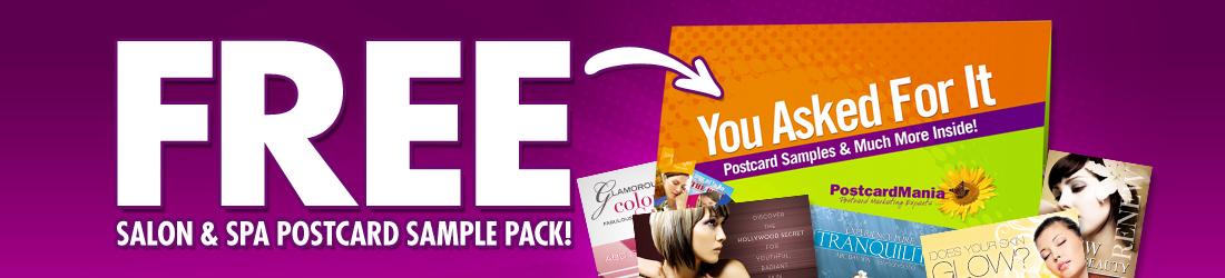 FREE Spa & Salon Sample Postcards | PostcardMania