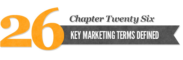 Chapter 26: Key Marketing Terms Defined | Author Joy Gendusa ...