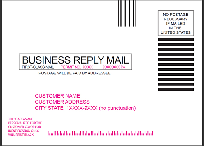 Postcard design and mailing free templates 4 6 5 7 6 for Usps business reply mail template