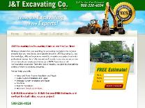 Excavation Contractors Website Design