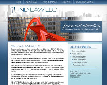 Legal Services Website Design
