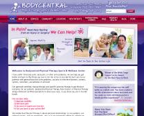 PT Sports & Wellness Website Design