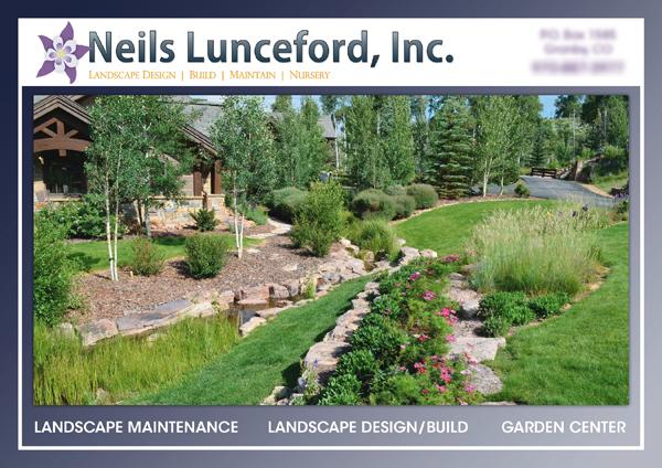 Landscape advertising granby co landscaping case study for Study landscape design