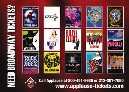 theatre services postcard marketing