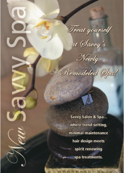 spa postcard marketing
