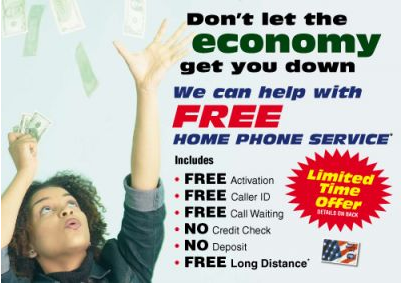 telecom marketing postcards