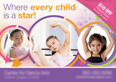 successful dance studio advertising ideas