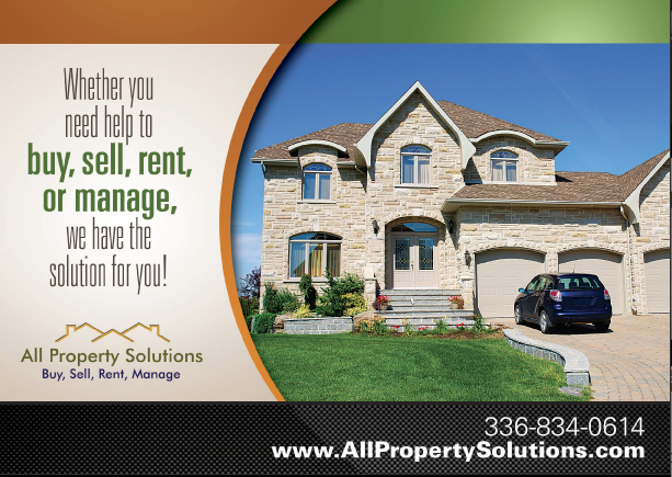 Real Estate Postcards For Triad Residential Solutions — Greensboro ...