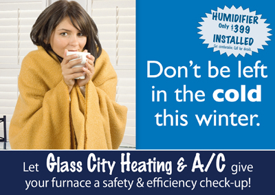 Heating And Cooling Postcards For Glass City Heating And A C Toledo Oh 43613