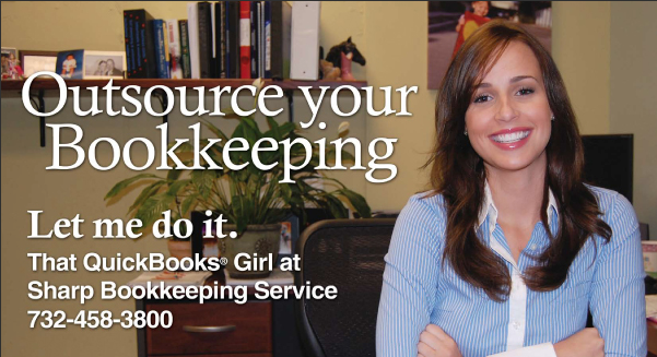 bookkeeping postcard marketing