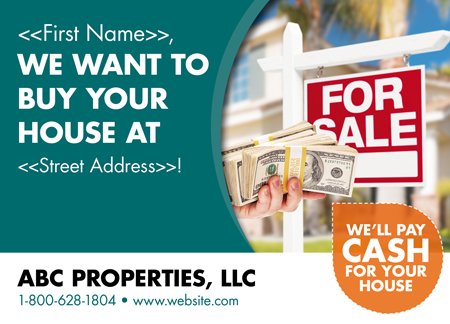 real estate mailer