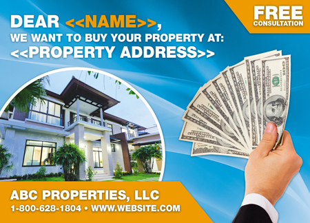 10 Brilliant Real Estate Investor Postcard Advertising Examples ...