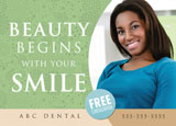 ad for new cosmetic dental leads