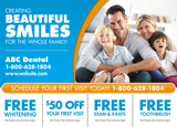 advertisement for dental leads