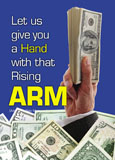 arm mortgage marketing postcard