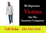 attorney personal injury marketing postcard
