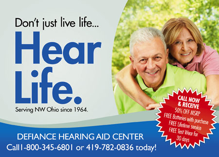 5 Brilliant Hearing Aid/Audiology Direct Mail Postcard Advertising ...