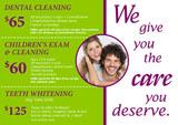 bulk mail postcard for dental mailing lists