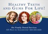 bulk mail postcard for dentists