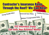business insurance marketing postcard