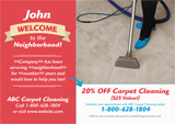 carpet cleaning marketing idea