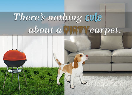 9 Brilliant Carpet Cleaning Direct Mail Postcard