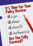 checklist insurance marketing postcard