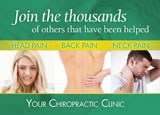 chiropractor ad design free sample