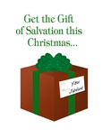 christmas service promotional mailer