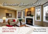 commercial interiorexterior painting postcard idea