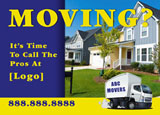 commercial mover marketing postcard design