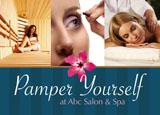 day spa skin care advertising idea
