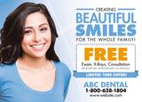 dental bulk mail postcard
