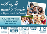dentist marketing piece