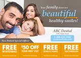 dentist marketing postcard