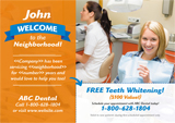 Personalized Dental Postcard Design