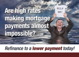 direct mail postcard for mortgage brokers