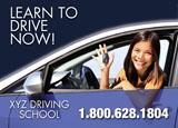 driving school marketing ad