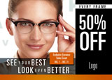 eye care center glasses marketing