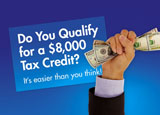 federal tax credit mortgage postcard
