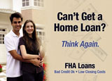 fha loan mortgage advertisement