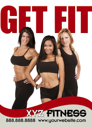 24 Brilliant Fitness, Gym & Personal Training Direct Mail Postcard ...