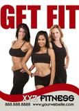 fitness gym marketing postcard