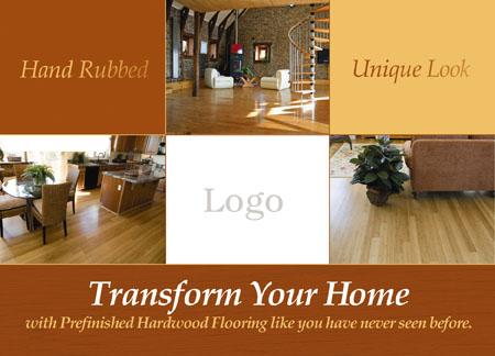 4 Brilliant Flooring Services Direct Mail Postcard Examples ...