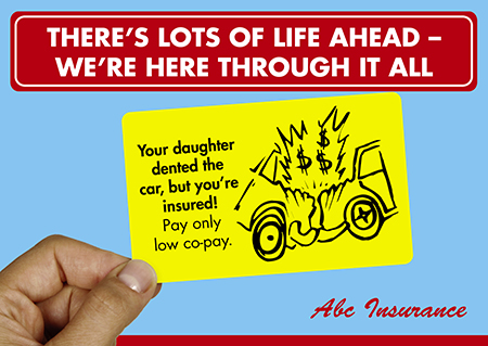76 Brilliant Insurance Agent Direct Mail Postcard Advertising Examples