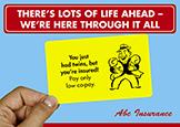 general insurance postcard series twins