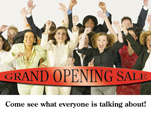 grand opening marketing promotional mailer