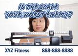 gym membership mailer idea