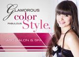 hair salon marketing postcard