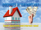 harp 2 mortgage marketing postcard